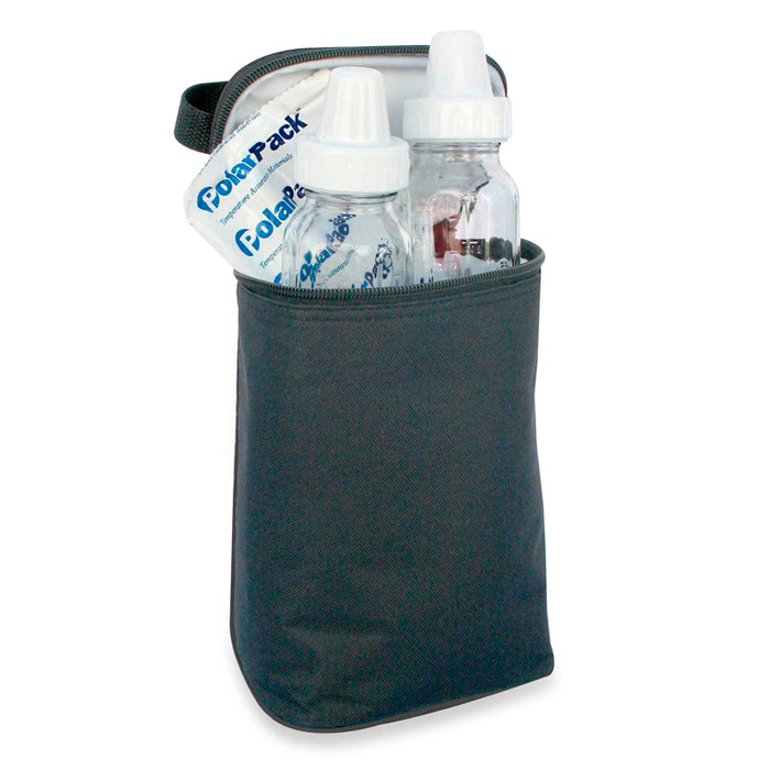 Jl Childress Two Cool 2-Bottle Cooler in Black