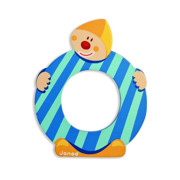 Janod Clown Wood Letters - O - CanaBee Baby