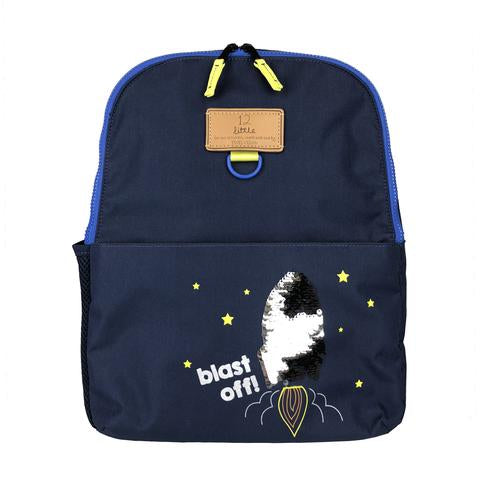 Twelve Little Adventure Backpack Navy