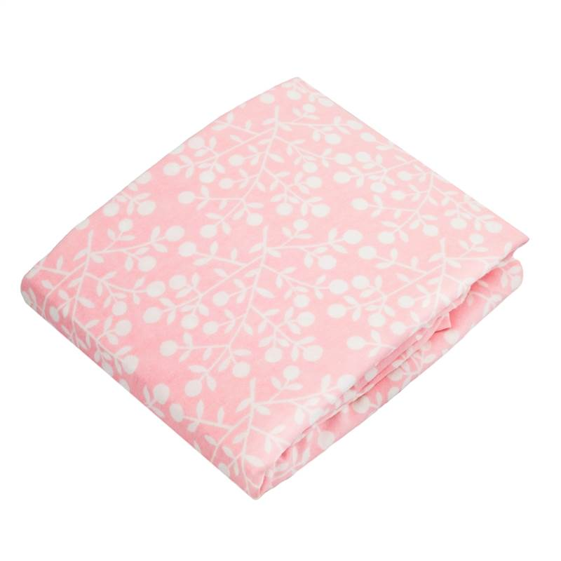 Kushies Change Pad Fitted Sheet Pink Berries S347-524
