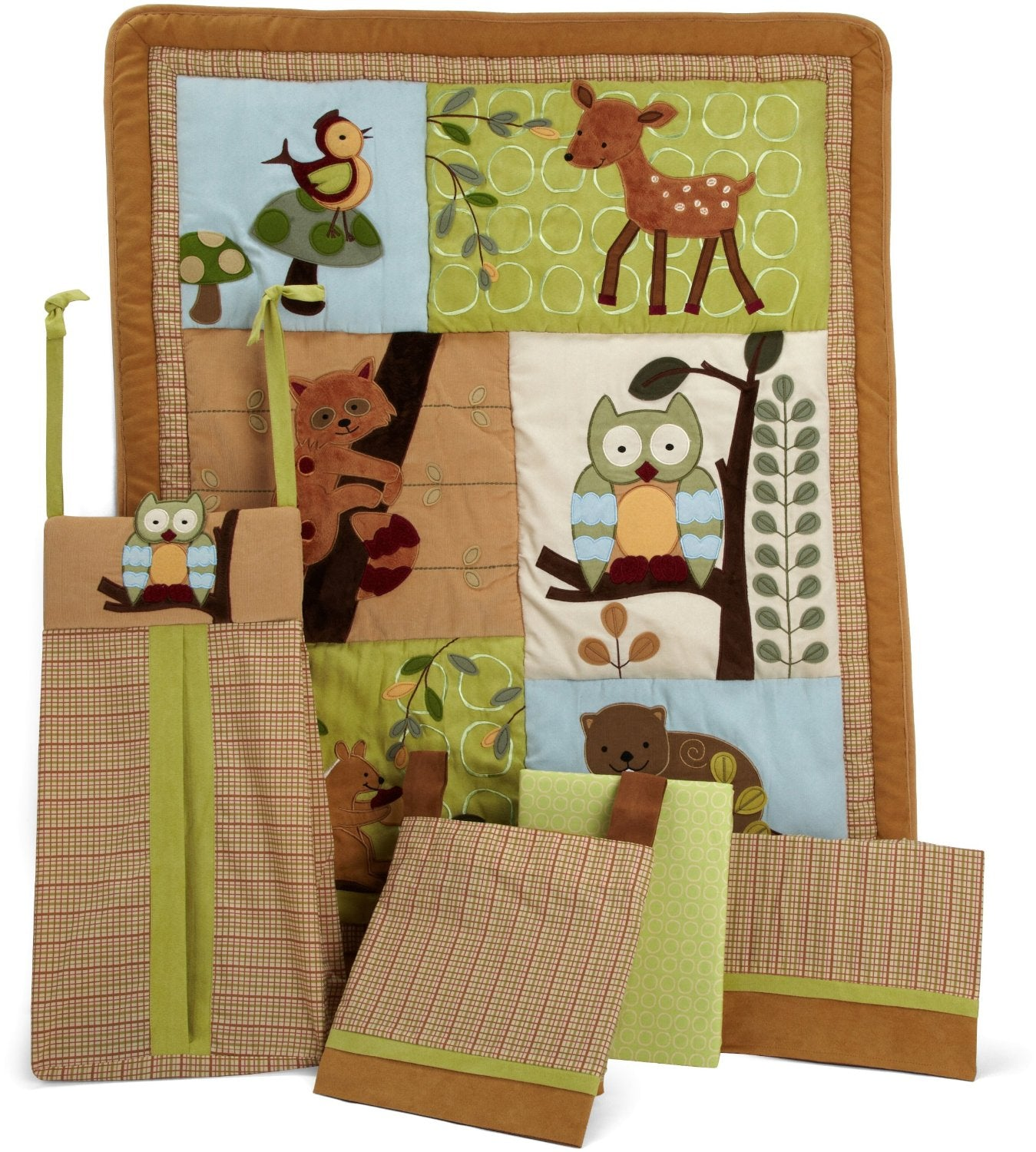 Lambs Ivy Enchanted Forest 5pc Crib Set - CanaBee Baby