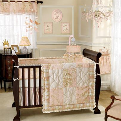 Lambs Ivy Little Princess 5 pc crib Set - CanaBee Baby