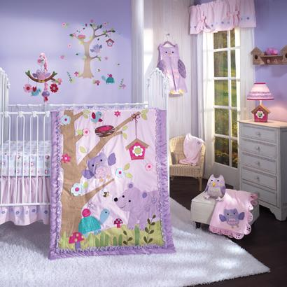 Lambs Ivy Mystic Forest 7pc Crib Set - CanaBee Baby