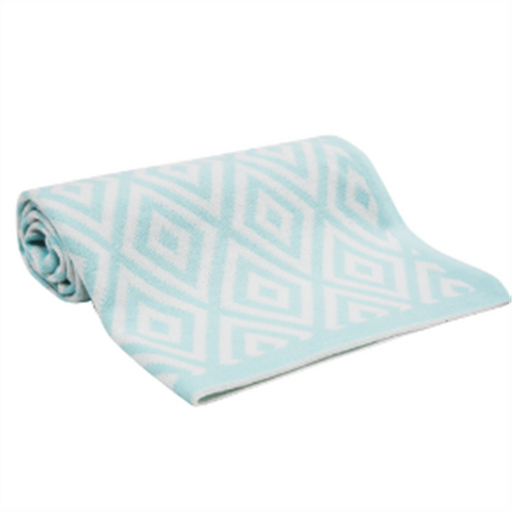 Lambs&ivy Blanket Classic Aqua Collection - CanaBee Baby