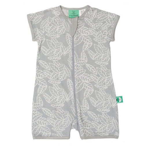ErgoPouch Bamboo Short Sleeve Sleeper 0.2T -  Rainforest Leaves