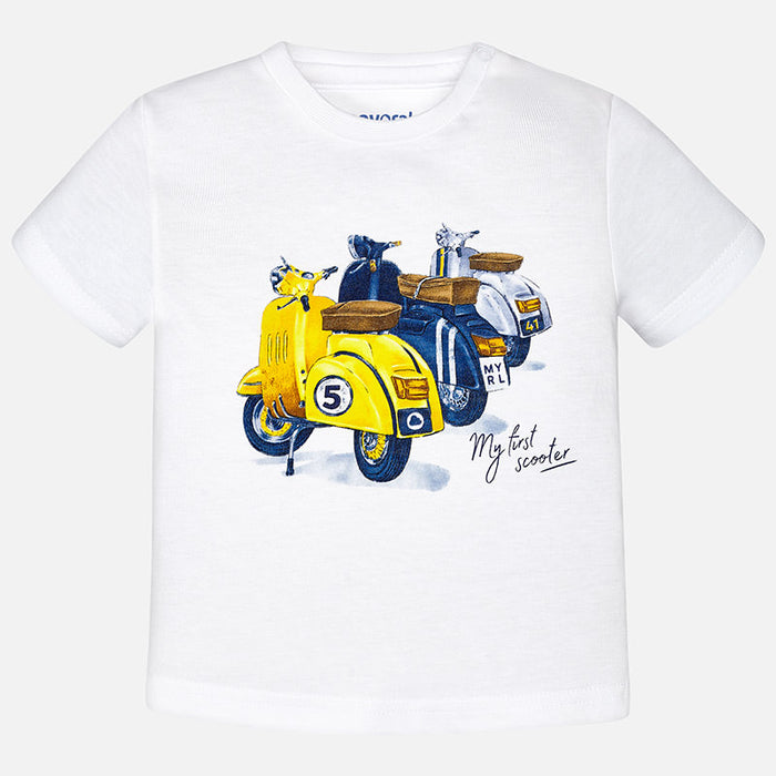 Mayoral BabyT-Shirt White 1038