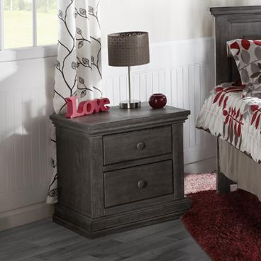 Pali 2114 Modena Nightstand (Distressed Granite)