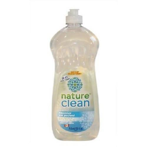Nature Clean Dishwashing Liquid 740ml Unscented - CanaBee Baby