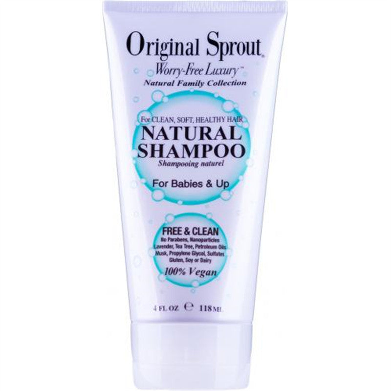 Original Sprout Natural Shampoo 4oz - CanaBee Baby