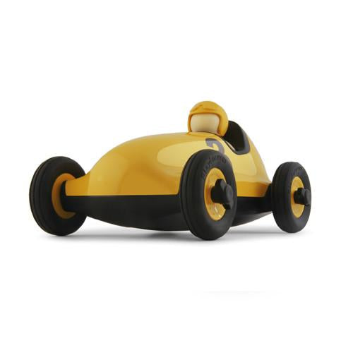 Playforever Bruno Racing Car - Yellow - CanaBee Baby