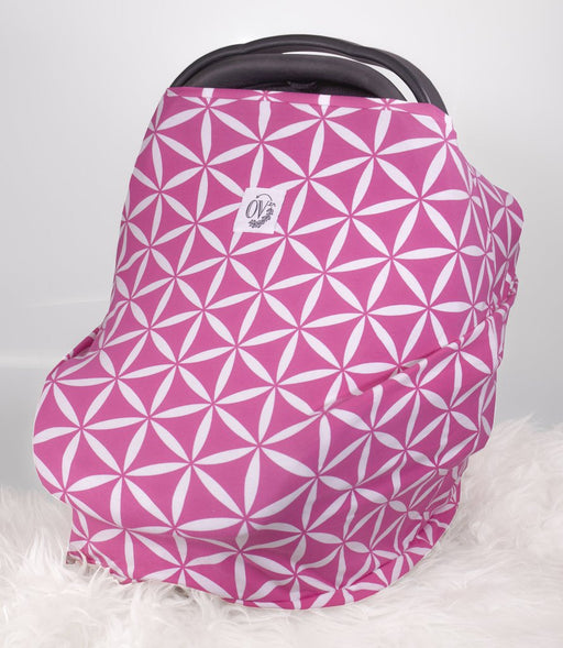 The Over.co Multi-use Baby Cover Parker Pink Over