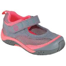 Pediped Flex Darcy Grey Neon Pink