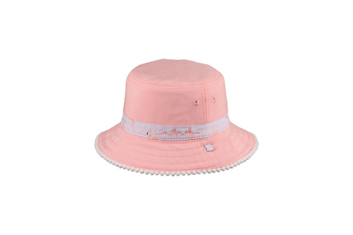 Millymook Baby Girls Reversible Bucket Hat Camille Pink HBX-0086-40