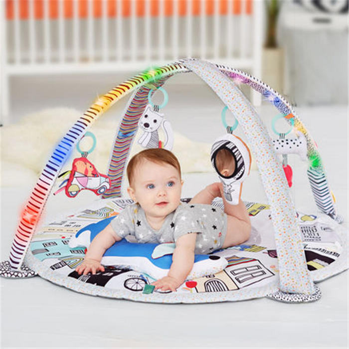 Skip hop Vibrant Village Smart Lights Activity Gym - CanaBee Baby