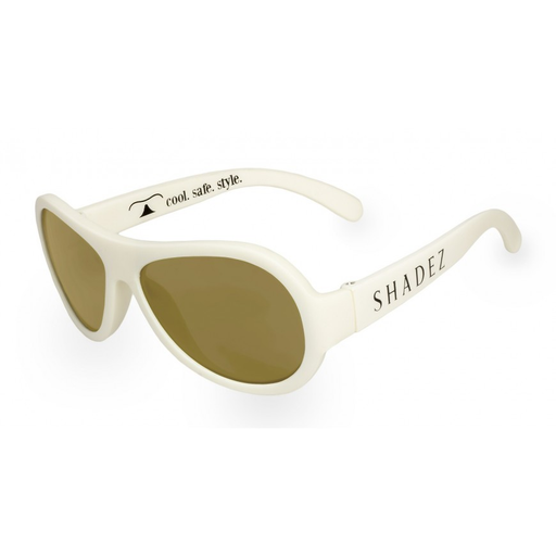 Shadez Classic Children Sunglasses - White - CanaBee Baby
