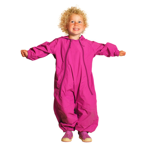 Splashy One Piece Splash Suit Hot Pink