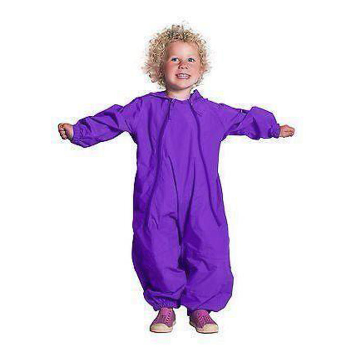 Splashy One Piece Splash Suit Purple