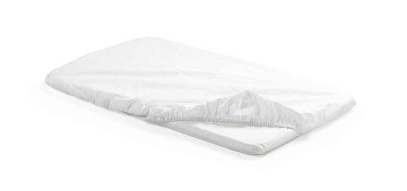 Stokke Home Cradle Fitted Sheet 2pc - White