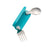 Sugarbooger Folding Utensil Set - Aqua Dot - CanaBee Baby