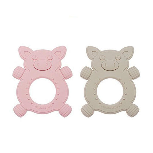 Sugarbooger Teether - Giggly Piggly - CanaBee Baby