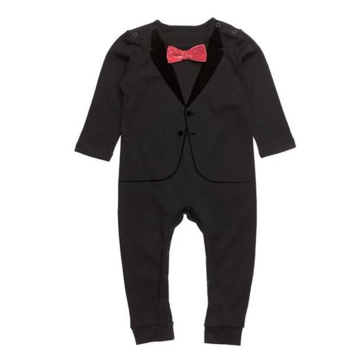 The Tiny Universe The Velvet Tuxedo Black Red Bow