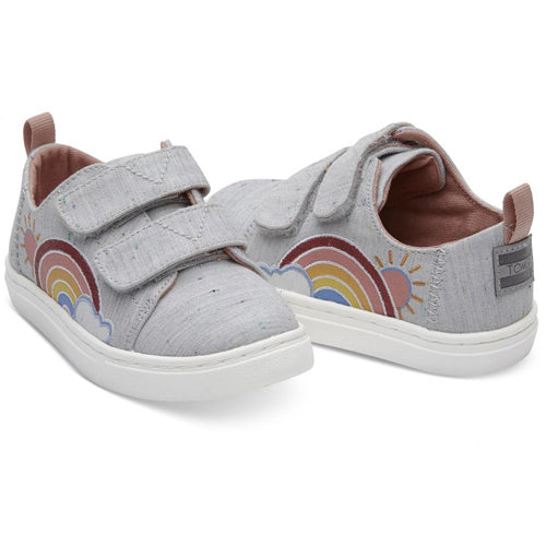 2b7feecd39a Toms Grey Multi Drizzly Weather Tiny Lenny