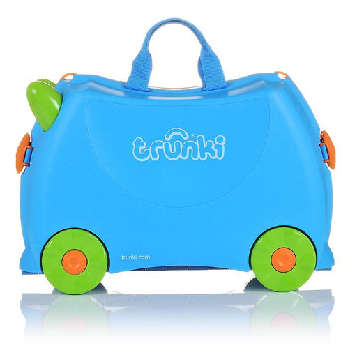 Trunki Children's Ride On Suitcase Terrance Blue