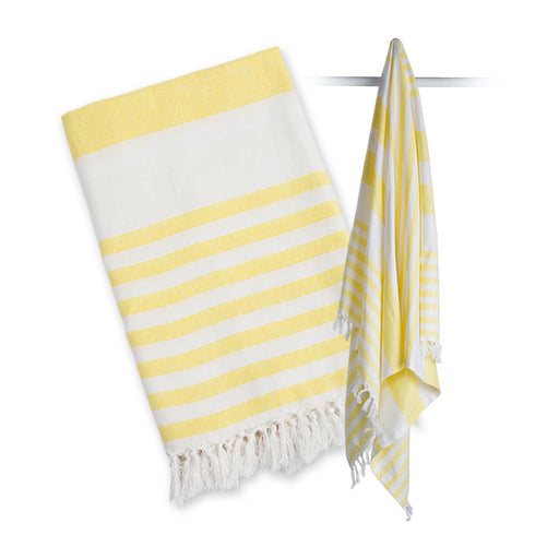 Lulujo Turkish Towel - Sunshine Yellow