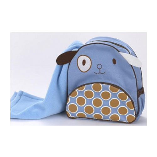 Cocalo Backpack and Blanket - Puppy