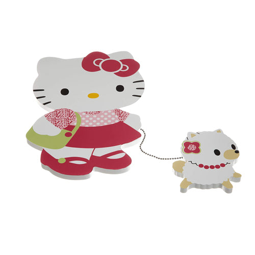 Bedtime Originals Wall Decor Hello Kitty and Puppy