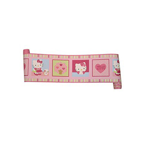 Bedtime Originals Wall Border Hello Kitty Puppy& Friend
