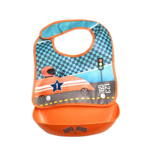 Petite Creations Bib Snap Tray Car BT406