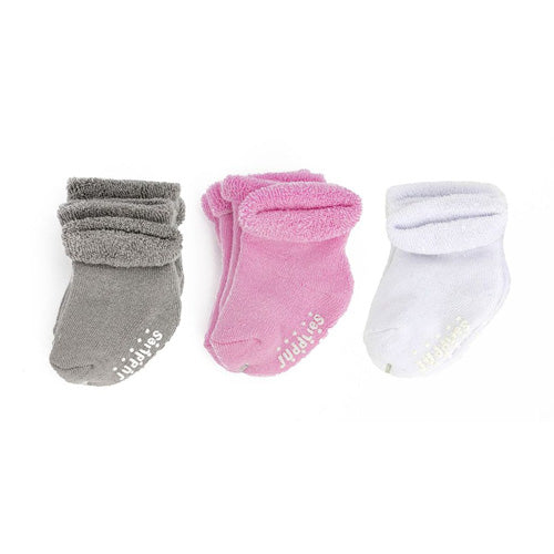 Juddlies Multi Pack Infant Socks Girls 6pk JL605