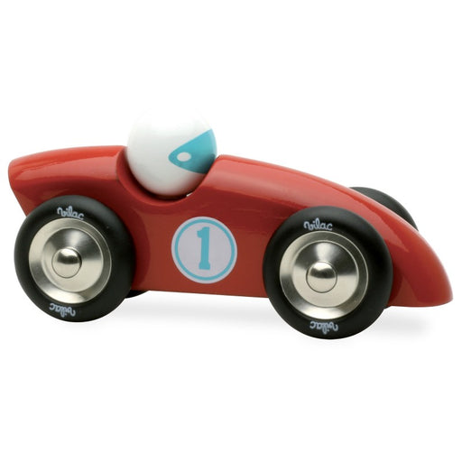 Vilac Competition Car Larger Red - CanaBee Baby