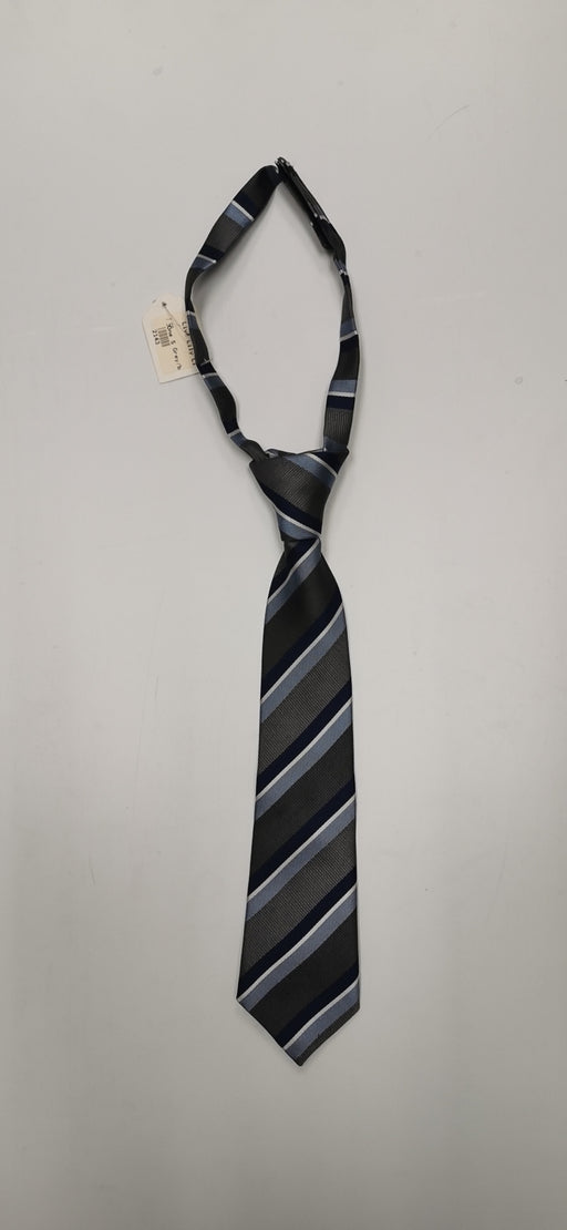 Liv& Lily Necktie Blue/Black Striped