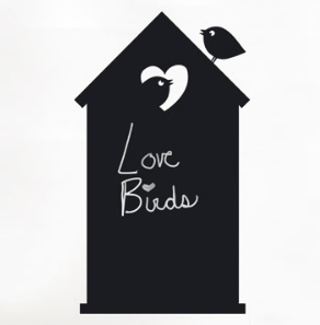 Ad Zif Black Board Love Shack