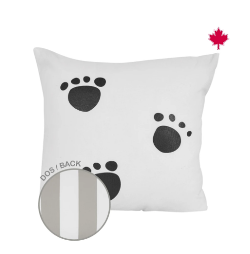 Perlim Pin Pin Small Small Cushion 14*14 Paws  L0417 PATIE
