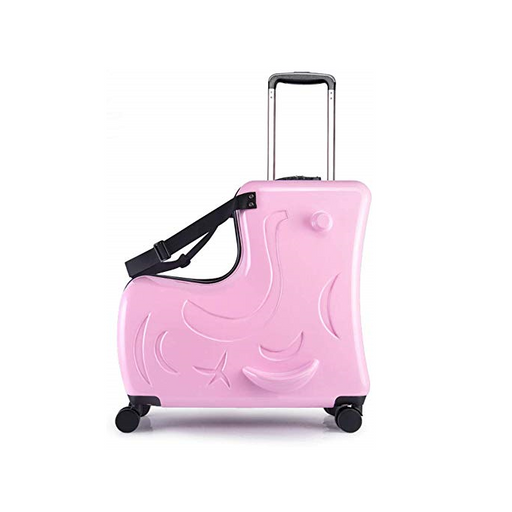 Aoweila Ride-on Luggage Case 20'' - Light Pink