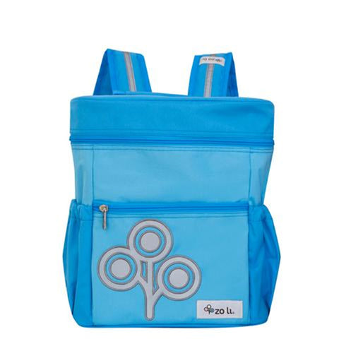 Zoli Mini Stash Bucket-Style Rucksack Blue