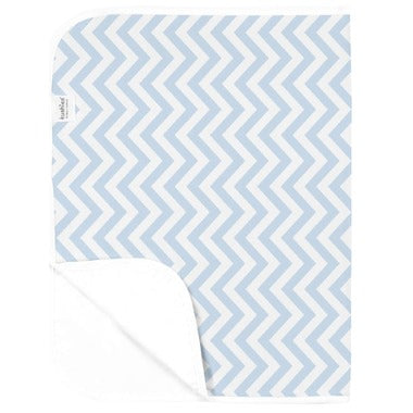 kushies change pad p215-505 terry blue chevron