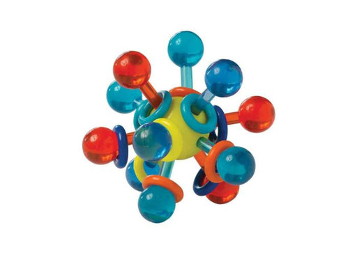 Manhattan Toy Transparent Atom Teether