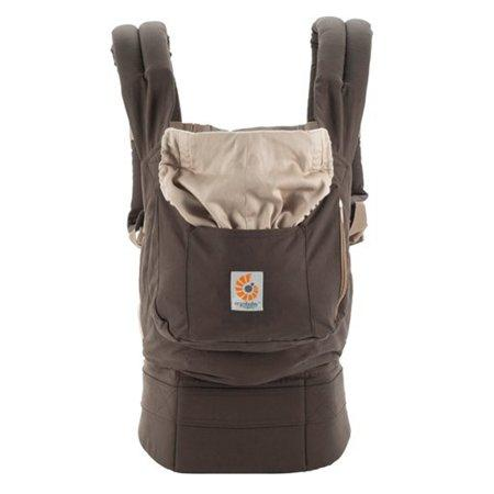 a8ee21a3d15 Ergobaby Organic 3 Position Baby Carrier - Dark Cocoa — CanaBee Baby