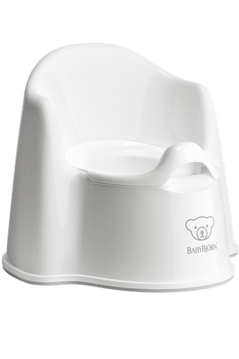 Babj Potty Chair - White/Grey 055221