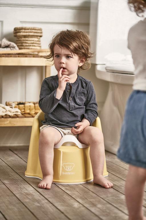 Babybjorn Potty Chair Powder Yellow/White 055266