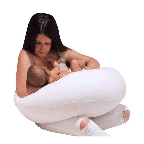 Baby Works Before & After Pregnancy Pillow - CanaBee Baby
