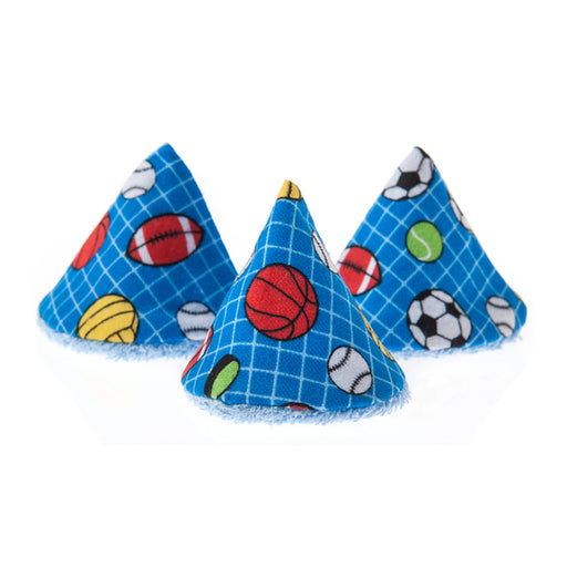 Beba Bean Pee-pee Teepee Cello Bag - Sports Ball Blue - CanaBee Baby