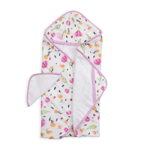 Little Unicorn Cotton Hooded Towel & Wash Cloth Set