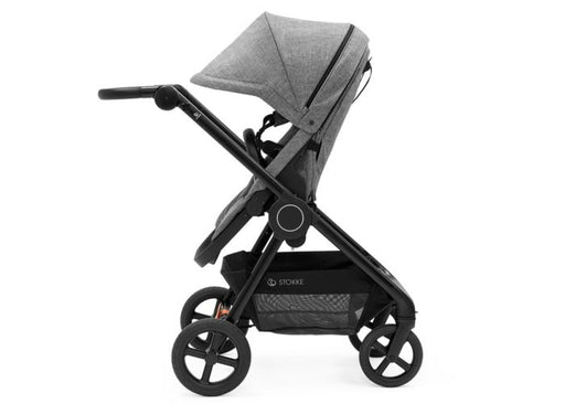 Stokke Beat Stroller - Black Melange with Black Chassis