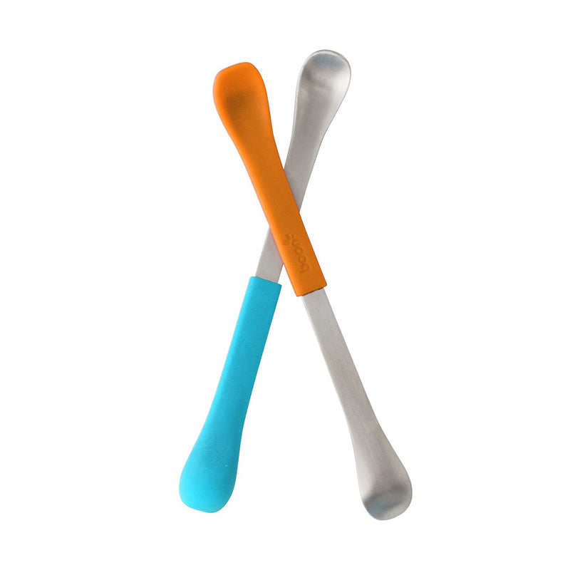 Boon Swap Baby Utensils,Blue/Orange - CanaBee Baby