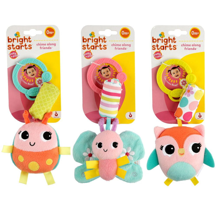Bright Starts Chime Along Friends Take-Along Toys (Assorted) 1pc